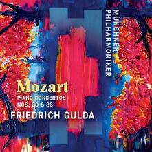 Concerto per pianoforte n.20 & n.26 - CD Audio di Wolfgang Amadeus Mozart,Friedrich Gulda,Münchner Philharmoniker