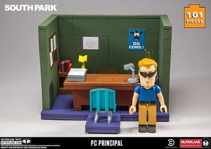 Funko Mcfarlane Tv South Park Small Construction Set Wave 1 Pc Principal Office - 4