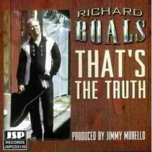 That's the Truth - CD Audio di Richard Boals