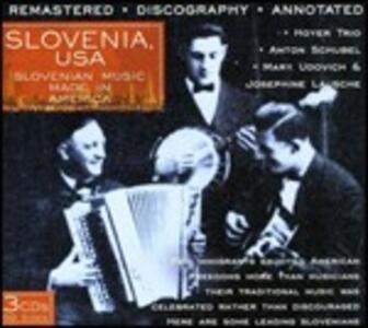 Slovenia, USA. Slovenian Music Made in America - CD Audio