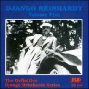 Volume Five - CD Audio di Django Reinhardt