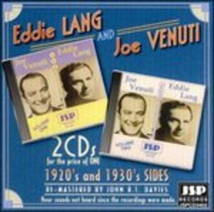 The 1920's & 30's Side - CD Audio di Joe Venuti,Eddie Lang