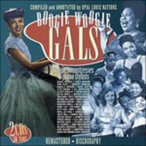Boogie Woogie Gals - CD Audio