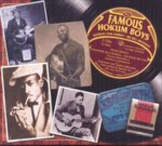 The Famous Hokum Boys - CD Audio