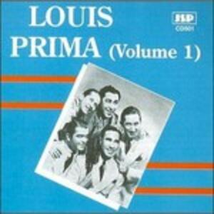 Vol.1 1934-1935 - CD Audio di Louis Prima