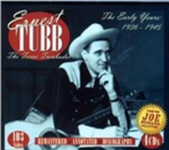 Early Years 1936-45 - CD Audio di Ernest Tubb
