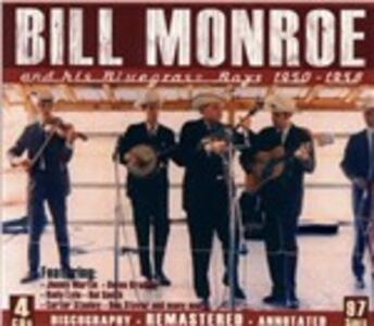And His Bluegrass Boys - CD Audio di Bill Monroe