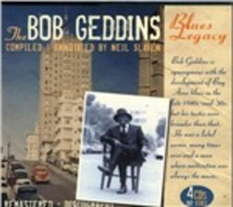 Bob Geddins Blue Legacy - CD Audio