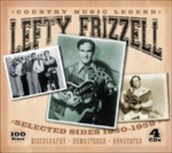 Country Music Legend. Selected Sides 1950-1959 - CD Audio di Lefty Frizzell