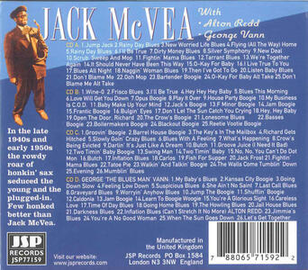 Bopping Without Dropping - CD Audio di Jack McVea - 2