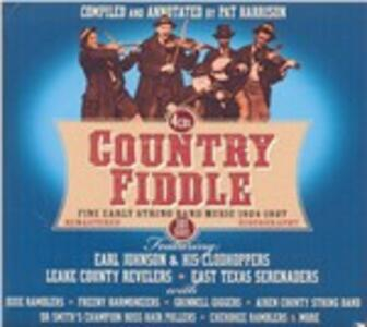 Country Fiddle. Fine Early String Band - CD Audio