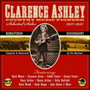 Country Music Pioneer - CD Audio di Ashley Clarence