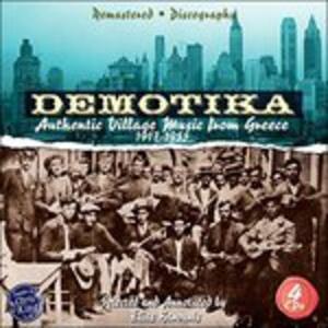 Demotika. Authentic Village Music of Greece - CD Audio