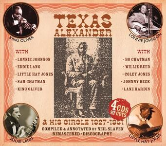 Texas Alexander and His Circle 1927-1951 - CD Audio di Texas Alexander