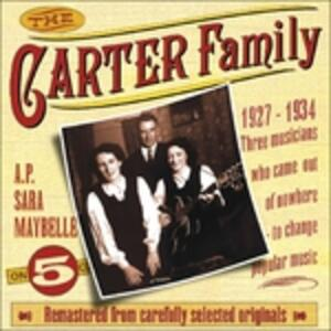 1927-1934 - CD Audio di Carter Family