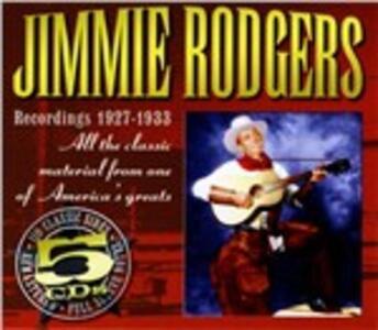 Recordings 1927-1933 - CD Audio di Jimmy Rodgers