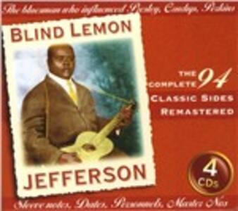 Classic Sides - CD Audio di Blind Lemon Jefferson