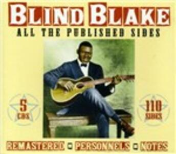 All the Published Sides - CD Audio di Blind Blake