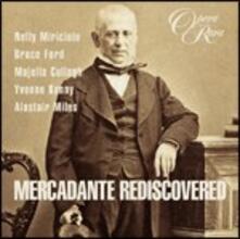 Mercadante Rediscovered - CD Audio di Saverio Mercadante