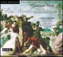 Les vespres siciliennes (I vespri siciliani) (Versione in francese) - CD Audio di Giuseppe Verdi,BBC Concert Orchestra,Mario Rossi