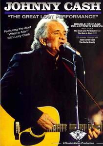 Johnny Cash. Great Lost Performance (2 DVD) - DVD
