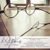 CD Musica per pianoforte a quattro mani Franz Schubert Milano Piano Duo
