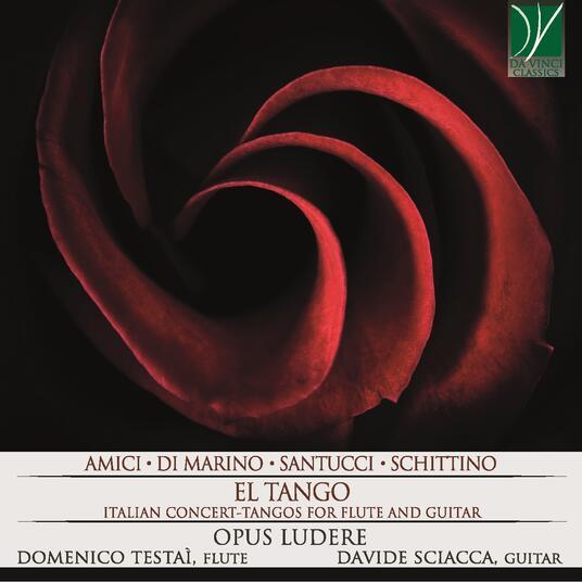 El Tango - Italian Concert - Tangos per flauto e chitarra - CD Audio di Opus Ludere