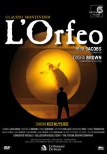 Claudio Monteverdi. L'Orfeo (2 DVD) - DVD