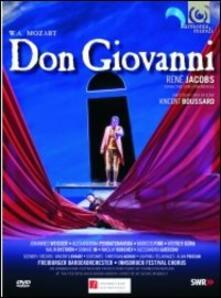 Wolfgang Amadeus Mozart. Don Giovanni (2 DVD) di Vincent Boussard - DVD