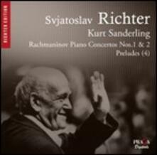 Concerti per pianoforte n.1, n.2 - CD Audio di Sergej Vasilevich Rachmaninov,Sviatoslav Richter,Kurt Sanderling