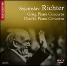 Concerti per pianoforte - CD Audio di Antonin Dvorak,Edvard Grieg,Sviatoslav Richter,Kyril Kondrashin