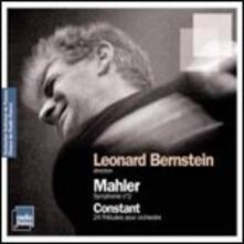 Sinfonia n.2 - CD Audio di Leonard Bernstein,Gustav Mahler