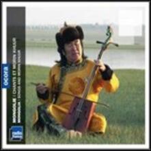 Mongolia. Songs and Morin Khuur - CD Audio
