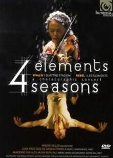 Four Elements, Four Seasons di Juan Kruz Díaz de Garaio Esnaola - DVD