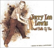Great Balls of Fire. Collection Rock'n'roll Latitude - CD Audio di Jerry Lee Lewis