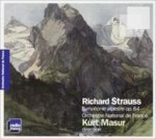 Sinfonia delle Alpi - CD Audio di Richard Strauss