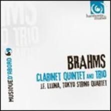 Clarinet Quintet-Trio - CD Audio di Johannes Brahms
