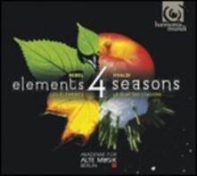 Le quattro stagioni - CD Audio di Antonio Vivaldi,Akademie für Alte Musik,Midori Seiler