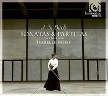 Sonate e partite per violino - CD Audio di Johann Sebastian Bach,Isabelle Faust