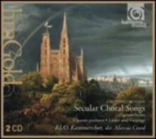 Lieder und Gesänge - In Stiller Nacht - CD Audio di Johannes Brahms,RIAS Kammerchor,Marcus Creed
