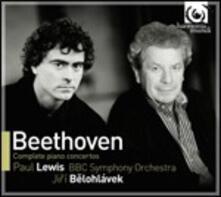Concerti per pianoforte completi - CD Audio di Ludwig van Beethoven,BBC Symphony Orchestra,Paul Lewis,Jiri Belohlavek