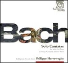 Cantate per voce solista (Edizione libro disco) - CD Audio di Johann Sebastian Bach,Andreas Scholl,Deborah York,Philippe Herreweghe,Collegium Vocale Gent