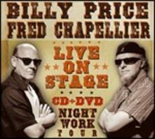 Live on Stage - CD Audio + DVD di Fred Chapellier,Billy Price