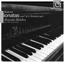 Sonate per pianoforte n.1, n.2 - Scherzo op.4 - CD Audio di Johannes Brahms