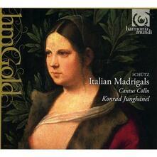 Madrigali italiani - CD Audio di Heinrich Schütz,Konrad Junghänel,Cantus Cölln