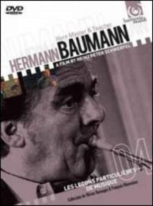 Hermann Baumann. Playing & teaching the horn - DVD