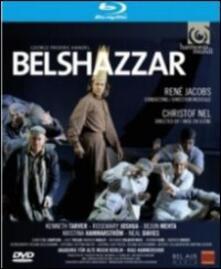Georg Friedrich Handel. Belshazzar (Blu-ray) - Blu-ray di Georg Friedrich Händel,René Jacobs,Rosemary Joshua,Kenneth Tarver