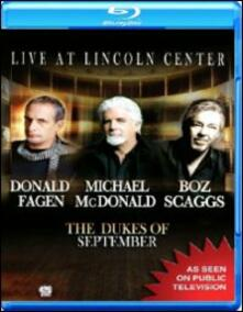 The Dukes of September. Live at Lincoln Center - Blu-ray