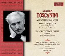 Toscanini Conducts Berlio - CD Audio di Hector Berlioz,Arturo Toscanini