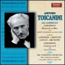 All-American Concert 1942 & 1944 - CD Audio di Arturo Toscanini